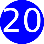 c8b35c7dada8aa0483a94504b476b5ee_number-20-blue-background-clip-clipart-of-the-number-20_300-300